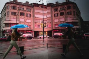 Sarajevo im Regen | Streetfotografie